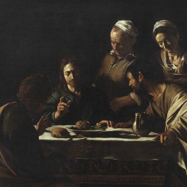 La Cena in Emmaus di Caravaggio in trasferta a Parigi