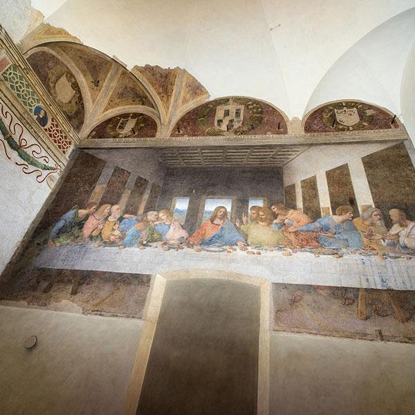 Il Cenacolo e la Chiesa di Santa Maria delle Grazie