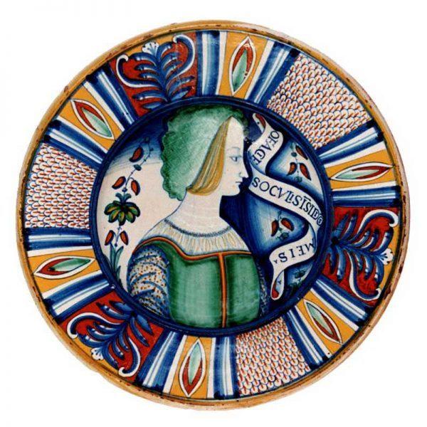 Capolavori delle più prestigiose collezioni museali di maiolica italiana