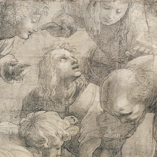 Raffaello all'Ambrosiana: In principio il cartone