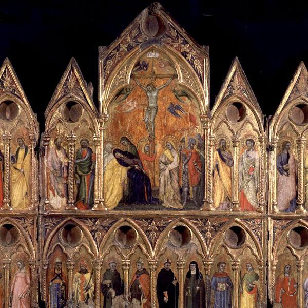 In Pinacoteca nelle salette gotiche. La formazione dello Stile