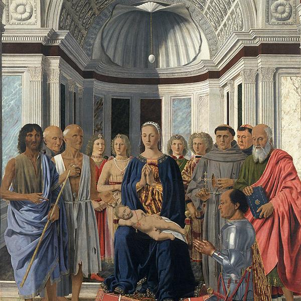 La mia vita con Piero: corpo a corpo con la Pala di Urbino