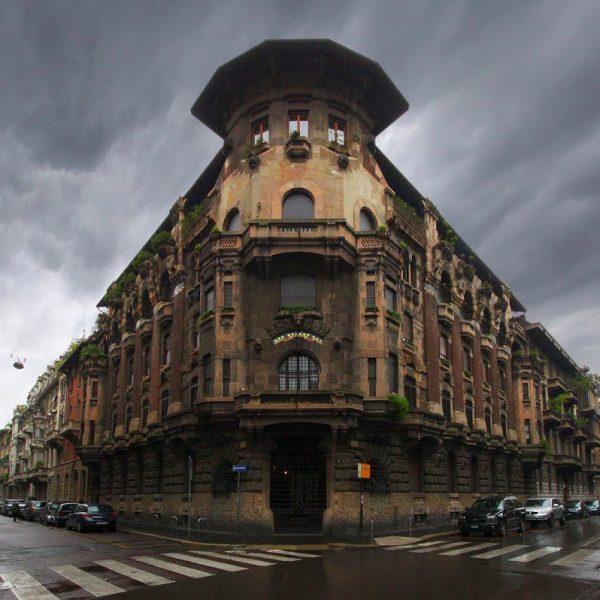 PERCORSO DI ARCHITETTURA: IL NEOMEDIEVALISMO MILANESE, DAL GOTHIC REVIVAL AD UN ECLETTISMO DI RITORNO PUNTEGGIATO DI ART NOUVEAU