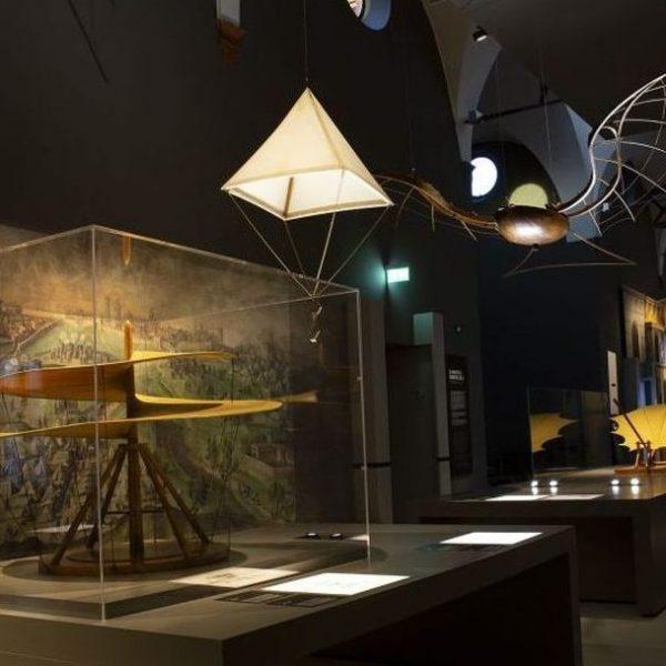 LE GALLERIE DI LEONARDO AL MUSEO DELLA SCIENZA E DELLA TECNOLOGIA
