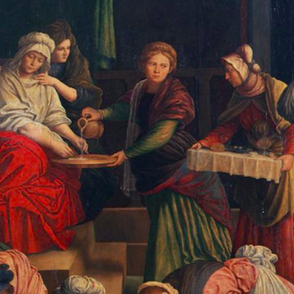 Brera a porte chiuse, per bambini: Nascita della Vergine di Gaudenzio Ferrari